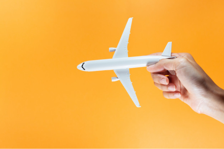 "this orange airplane illustrates ""ipr and information security"""