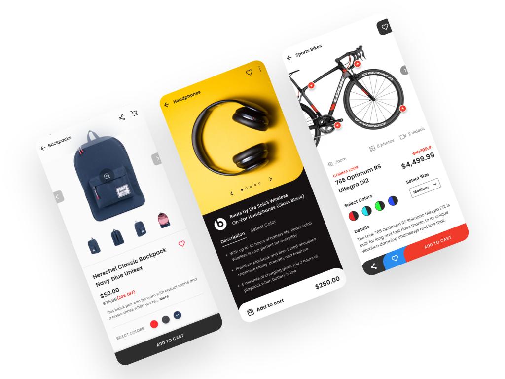 Để khuyến khích người dùng sử dụng app bán hàng, hãy tăng cường tối đa về mặt UI , mang lại trải nghiệm tốt nhất cho người dùng.