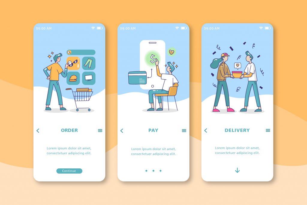 Thiết kế native mobile app đối với các ứng dụng mua sắm online được ứng dụng hàng đầu bởi các tiện ích của nó.