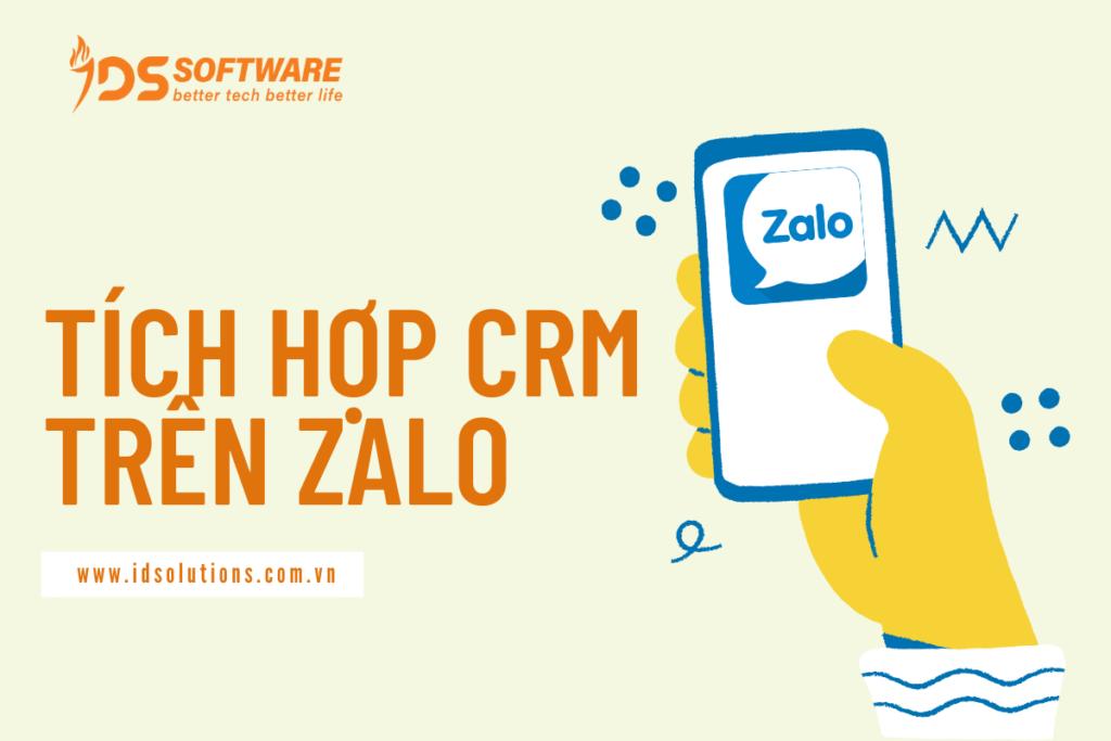 việc tích hợp CRM trên Zalo là một giải pháp mới hữu ích để doanh nghiệp tối ưu hóa việc quản lý cơ sở dữ liệu khách hàng hiệu quả.